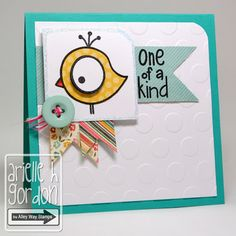 Snappy Stampin' w/ Arielle: ONE OF A KIND / DS #100!!!!! TAWS/ The Alley Way Stamps - Set(s): Bird Brain & Deep in the Woods