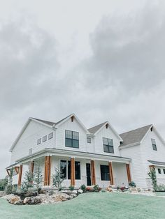 Home Remodeling Modern Wendy Correen Smith: A Modern Farmhouse - Parade of Homes, White House Black Windows Cedar Post, Home Tour - Lifestyle