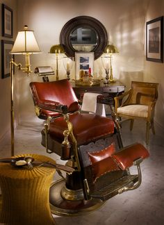 Images of tucker's point spa in bermuda vintage barber chair