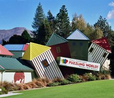 Puzzling World, Lake Wanaka (Otago, New Zealand)