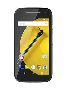 """Motorola XT 1524 Moto E (2nd Gen.)  - Smartphone libre de 4.5"""" (Quad Core 1.2 GHz, 1 GB de RAM, 8 GB, cámara 5 MP, Android) color negro Motorola http://www.amazon.es/dp/B00TXEG878/ref=cm_sw_r_pi_dp_Cka9vb0GJS212"""