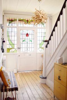 Edwardian Hallway - Cornforth White