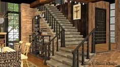 Ruby's Home Design 璐比的房屋: Sims3 Industrial Chic 工業風住宅