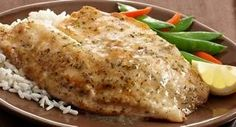 Saucy Lemon Fish Fillets: A light lemony sauce turns plain fish fillets into a delicious main dish.