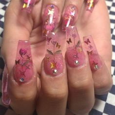 80 ideas to create the best Halloween nail decoration - My Nails Perfect Nails, Gorgeous Nails, Pretty Nails, Summer Acrylic Nails, Best Acrylic Nails, Summer Nails, Pink Acrylics, Pink Summer, Acrylic Nail Designs
