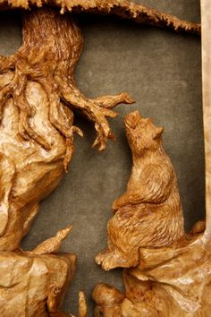 """""""Woodcarvers of Etsy Count down to Christmas"""" 10 shopping weeks left by M.A.Dellinger Wood Carving on Etsy"""