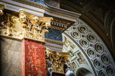 St. Stephen's Basilica Budapest Hungary.