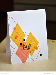 Love It Card by mbelles at @Studio_Calico