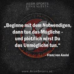 """Franz hat das Prinzip der """"progressiven Trainingsgestaltung"""" verstanden - du auch? - Aesir Sports & www.AesirSports.de"""