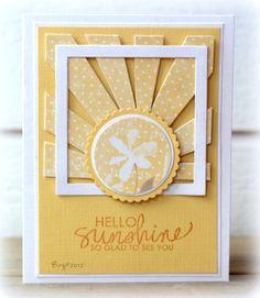 TLC384 Sunbursts by Biggan - Cards and Paper Crafts at Splitcoaststampers