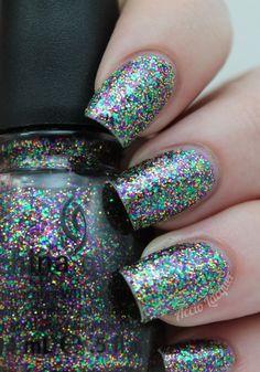 Accio Lacquer: China Glaze Glitter all the Way