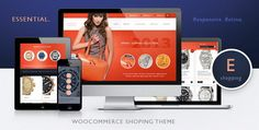 Essential – Responsive. Retina, WooCommerce WordPress Theme
