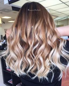 Balayage High Lights To Copy Today - Fire and Ice - Simple, Cute, And Easy Ideas For Blonde Highlights, Dark Brown Hair, Curles, Waves, Brunettes, Natural Looks And Ombre Cuts. These Haircuts Can Be Done DIY Or At Salons. Don't Miss These Hairstyles! - https://thegoddess.com/balayage-high-lights-to-copy