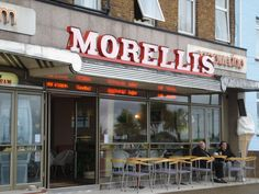 Morellis in Broadstairs, Ice Cream, coffee & great milkshakes. Great Places, Places Ive Been, Alphabet Images, Places In England, Kent England, East Sussex, Great Britain, Travel Style, Childhood Memories