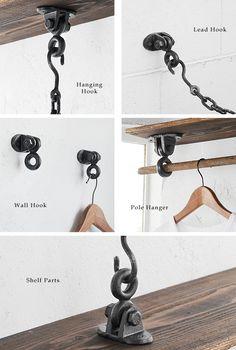 Wall Hooks, Bathroom Hooks, Rustic Colors, Wooden Crafts, Hanger, Shelves, Interior, House, Yahoo