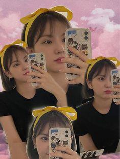 Jung Eun Bi, Cute Pastel Wallpaper, Latest Music Videos, Aesthetic Filter, G Friend, Beige Aesthetic, Friends In Love, Korean Singer, Korean Girl Groups