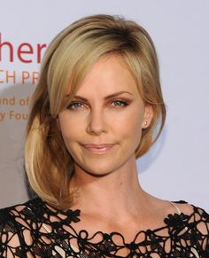Charlize Theron Mid-Length Bob