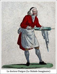 Molière – Le Malade