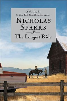 The Longest Ride by Nicholas Sparks.  I just finished this and loved it.  I definitely recommend it!
