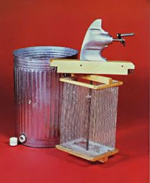 A do-it-yourself honey extractor via Mother Earth News (my husband built a similar one and had good results)
