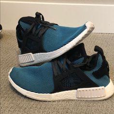 outlet store 62bb5 326ca adidas Shoes   Adidas Nmd Xr1 - Aquablk   Color  Black Blue   Size