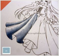 Copic Marker Europe: Tutorial on colouring folds...