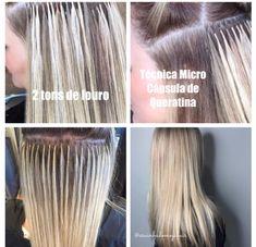 Cabelo Com Mega Hair, Keratin, Natural Hair, Shades, Extensions Hair