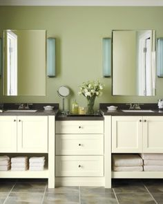 """See the """"Double the Fashion: Martha Stewart Living Ox Hill Cabinets"""" in our Martha Stewart Living Cabinet Solutions from The Home Depot gallery"""
