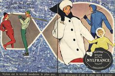 Nylfrance 1960 Winter sports clothing