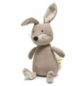"Amazon.com: Noodle Rabbit Medium 9"" by Jellycat: Toys & Games"