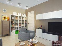 Стильная квартира 64,7 кв.м с мебелью IKEA — IROOMI