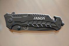 Personalized Groomsmen Knives, Engraved Folding Spring Assisted Hunting Knives, Groomsmen Gift, Best Man Gift, Custom Knives, Rescue Knife $22.99