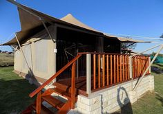 The fancy luxury tents at Goldfields Game Ranch. Luxury Tents, Luxury Rooms, Ultimate Travel, Glamping, Firewood, Ranch, Swimming Pools, Game, House Styles