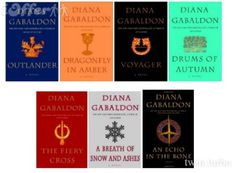 Diana Gabaldon - Outlander Series  Read these books! You won't be sorry