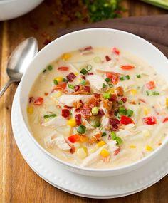 Creamy Chicken and Corn Chowder-ii