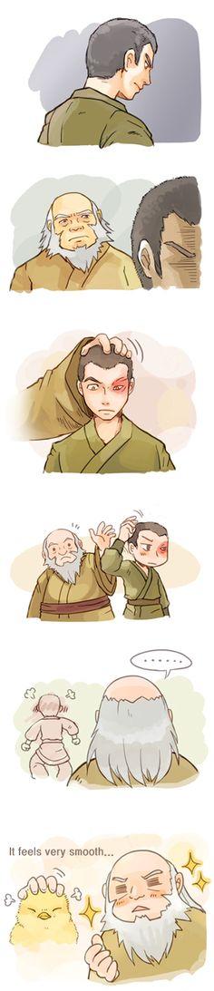 Tags: Anime, Avatar: The Last Airbender, Elderly, Zuko, Iroh, Little Yellow Bird, Little Bird