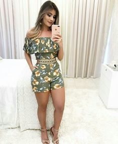 Swans Style is the top online fashion store for women. Shop sexy club dresses, jeans, shoes, bodysuits, skirts and more. Casual Wear, Casual Outfits, Cute Outfits, Fashion Outfits, Womens Fashion, Casual Dresses, African Fashion, Casual Looks, Spring Outfits