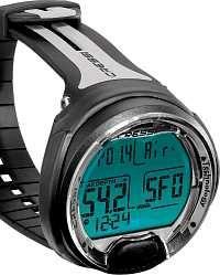 Damit kannst Du nix falsch machen: Tiefe, Tauchzeit, Deko - alles im Griff! Digital Watch, Sea State, Diving, Safety, Deco