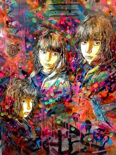 French artist Christian Guémy.... aka C215..... has been an active street artist for over 20 years. #graffiti