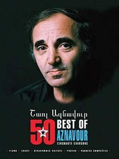 Charles Aznavour - Best-Of 50 Chansons - (Partition)