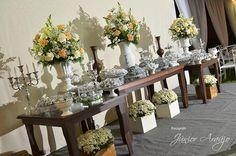 bodas de prata decoração rustica - Pesquisa Google