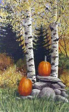 """Pumpkin Time"" By Kathy Glasnap"