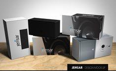 Packaging Design by EricL for Jemsar Digital speaker packaging - Design #2858909