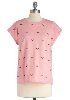 Pinch of Pink Top | Mod Retro Vintage T-Shirts | ModCloth.com