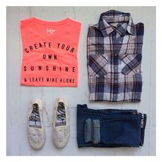 Umm.... Perfect outfit much?!