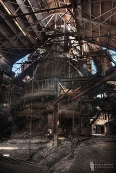 A Gigantic Dormant Relic On The Outskirts Of The 'Burgh (by billmclaugh)