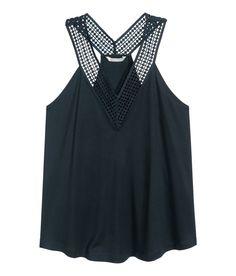 Sleeveless Jersey Top  | H&M Modern Classics