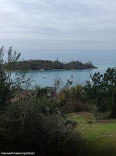 Scaur Bay from Fort Scaur, Sandys, Bermuda