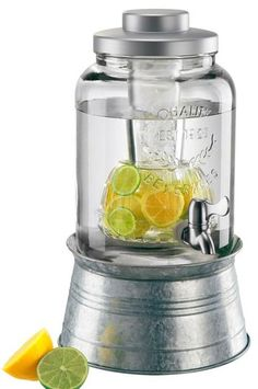 The Oasis Beverage Dispenser is perfect for any Home Entertaining situation, indoors or out. Great for dispensing your favorite beverage and/or infusing your favorite fruit flavors while also keep your beverage chilled.