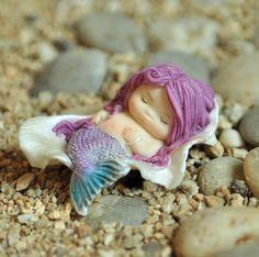Mermaid Merbaby Art doll